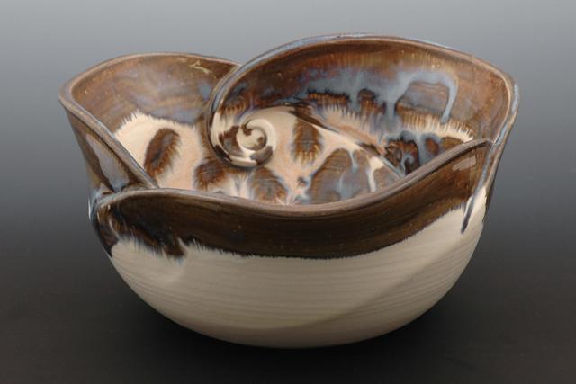 Handmade Bowl Bowls Class Iii Wave Bowl Mountain Made Wv