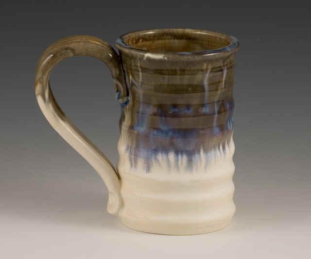Handmade Mug Ripple Mugs Hot Chocolate Handcrafted